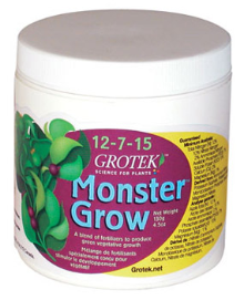 Grotek Monster Grow (12-7-15)