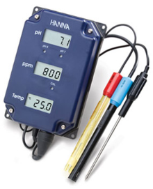 Hanna Tri-Meter - pH/TDS/Temperature Monitor