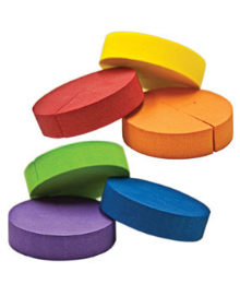 "Colorful 2"" Neoprene Inserts"