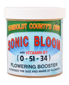 Humboldt County's Own Sonic Bloom with Vitamins