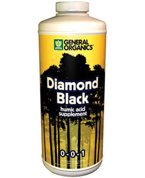 General Organics Diamond Black (0-0-1)