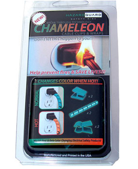 Chameleon Cable Clips and Wraps
