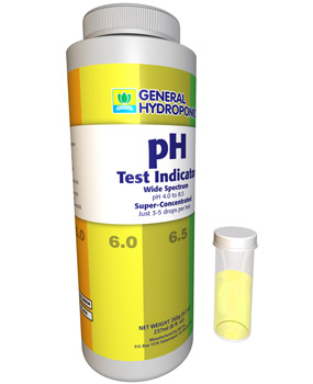 General Hydroponics pH Test Indicator